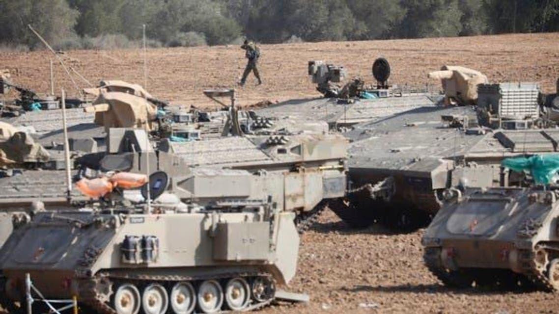 Gaza Israeli Tank
