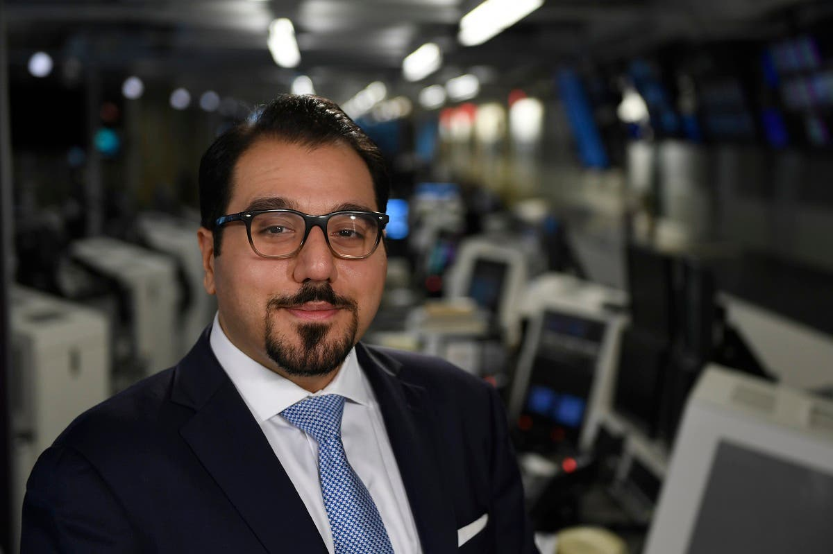 Foundation for Defense of Democracies (FDD) senior fellow Behnam Ben Taleblu poses for a photo following an interview with the Associated Press in Washington. (AP)