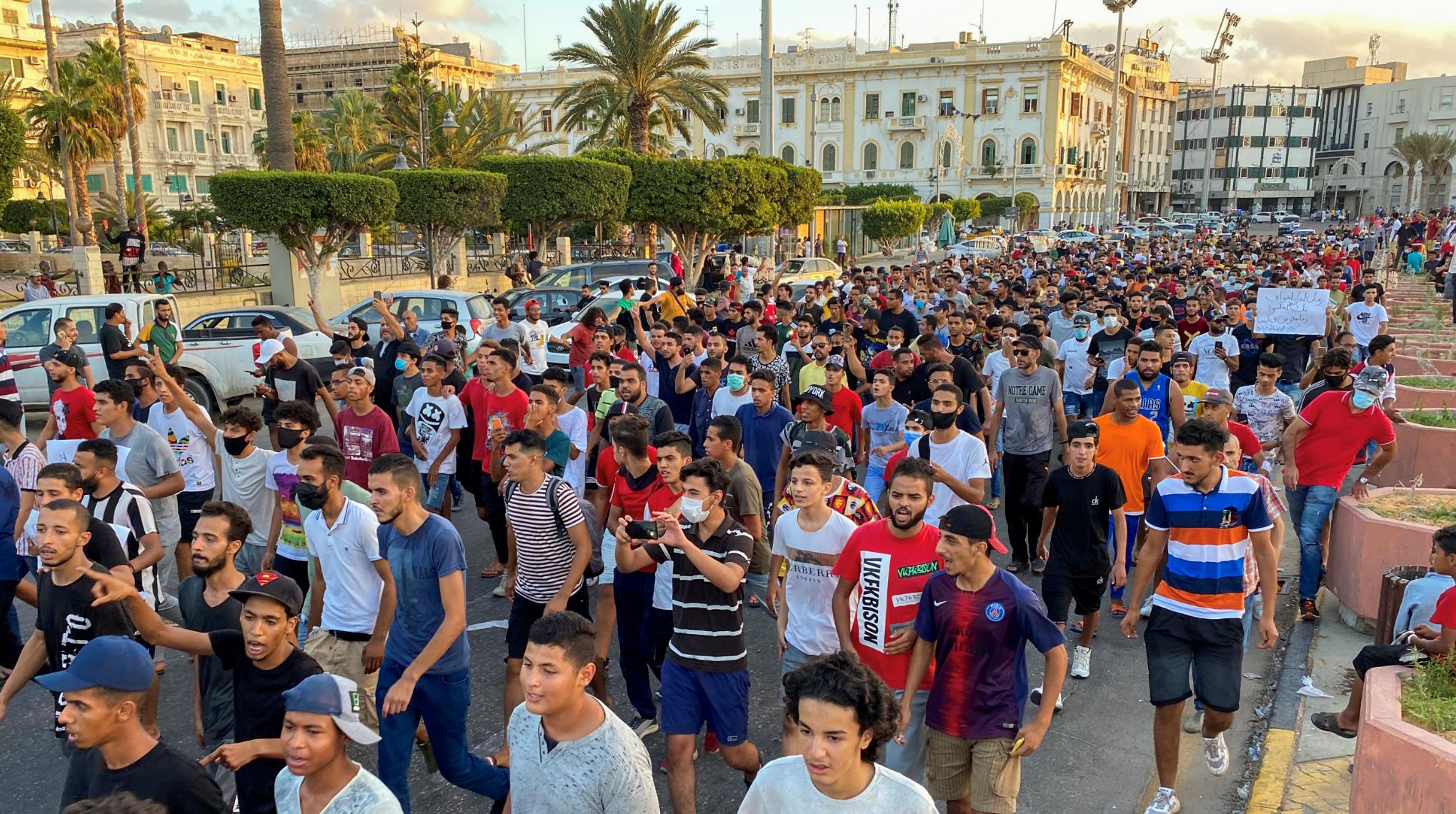 من ميدان الشهداء يوم 24 أغسطس