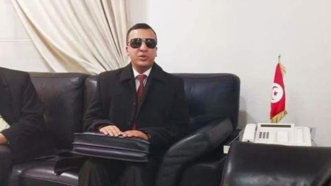 تونس کے نابینا وزیر