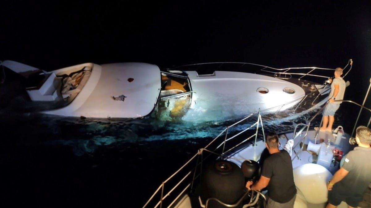 Dozens of migrants rescued off Greek island of Halki thumbnail