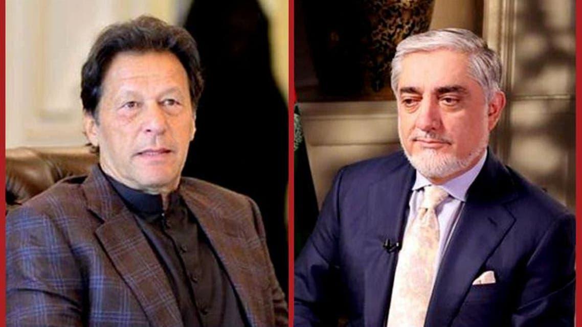 Imran Khan and Abdullah Abdullah