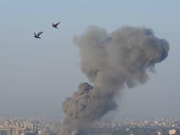 غزة.. طائرات إسرائيلية تستهدف موقعاً عسكرياً لحماس