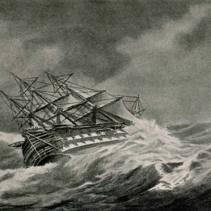 أسوأ إعصار بالأطلسي.. 20 ألف قتيل وسفن بقاع المحيط