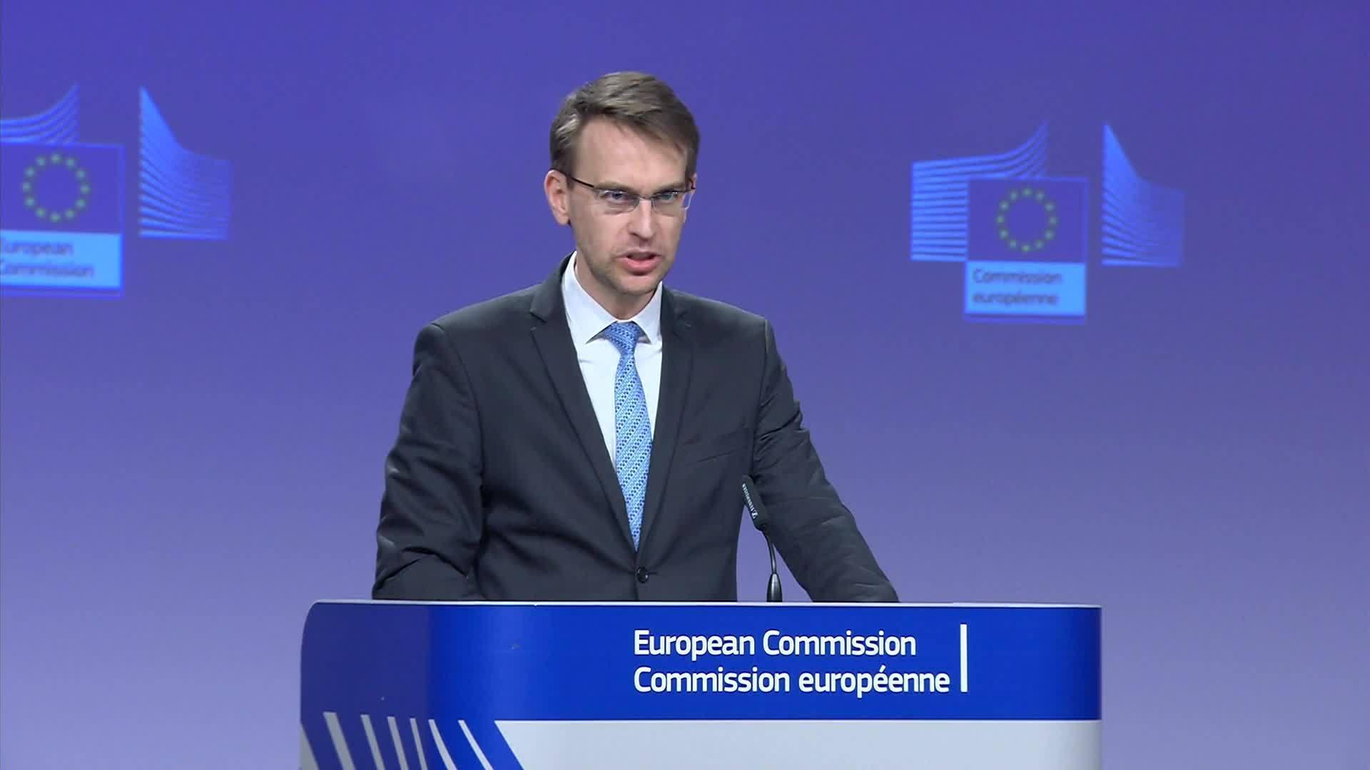 المتحدث باسم الاتحاد الأوروبي بيتر ستانو