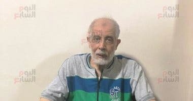 A photo apparently showing Mahmoud Ezzat after his arrest. (Provided by The Seventh Day)