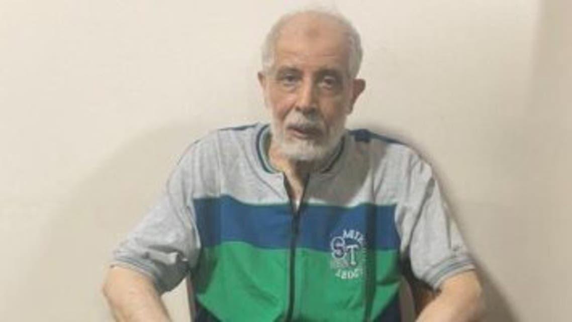 محمود عزت عقب إلقاء القبض عليه