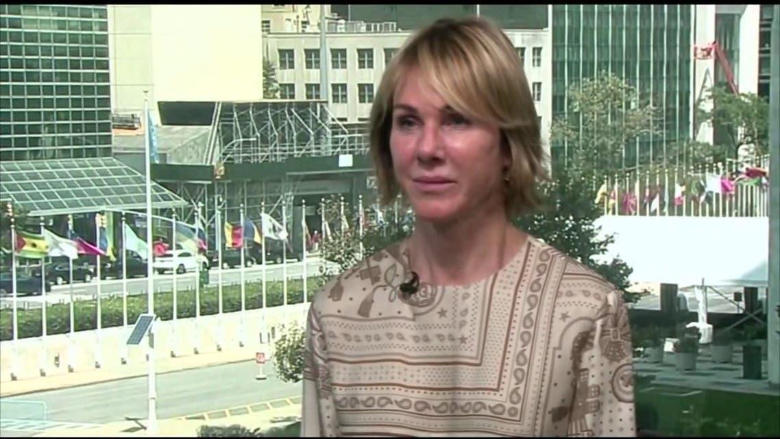 مندوبة الولايات المتحدة لدى الأمم المتحدة كيلي كرافت تتحدث للعربية