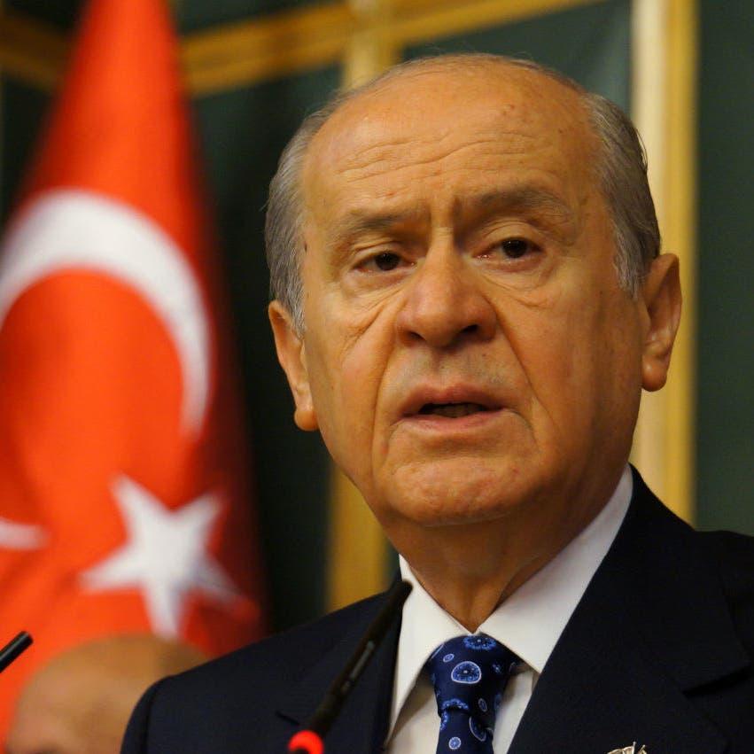 ماذا قال حليف أردوغان ردا على مطالب المعارضة بانتخابات مبكرة؟