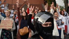 Belarus police use water cannon in Minsk, detain protesters: Official