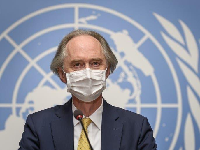 بيدرسون: أجواء إيجابية في اجتماعات اللجنة الدستورية لسوريا