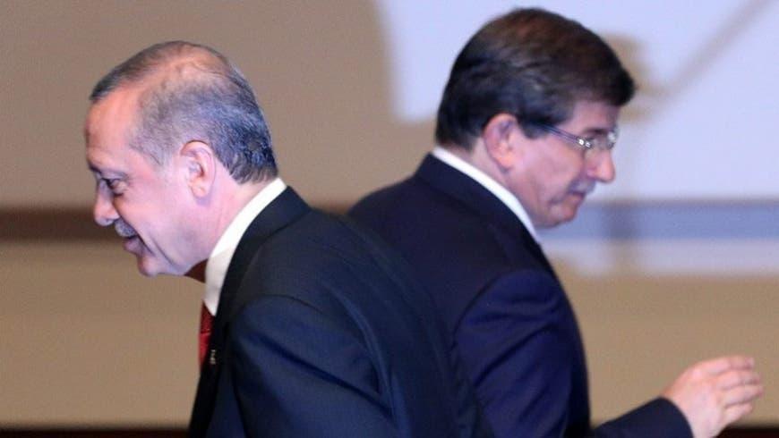 داوود اغلو و اردوغان