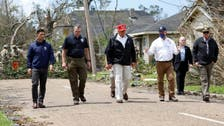 US President Donald Trump tours parts of Louisiana, Texas hit by Hurricane Laura