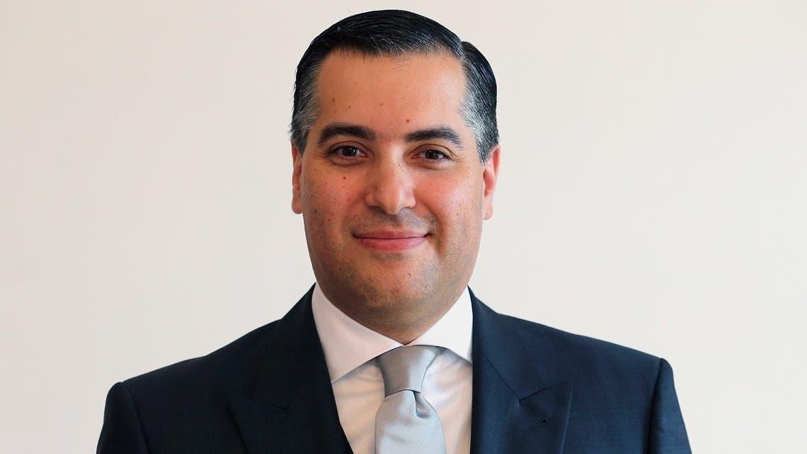 A file photo of Lebanon's ambassador in Germany, Mustapha Adib in Bellevue Castle in Berlin, Germany. (AFP/DPA/Wolfgang Kumm)