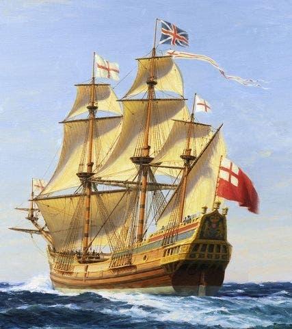 رسم تخيلي لسفينة سيا فانتشر