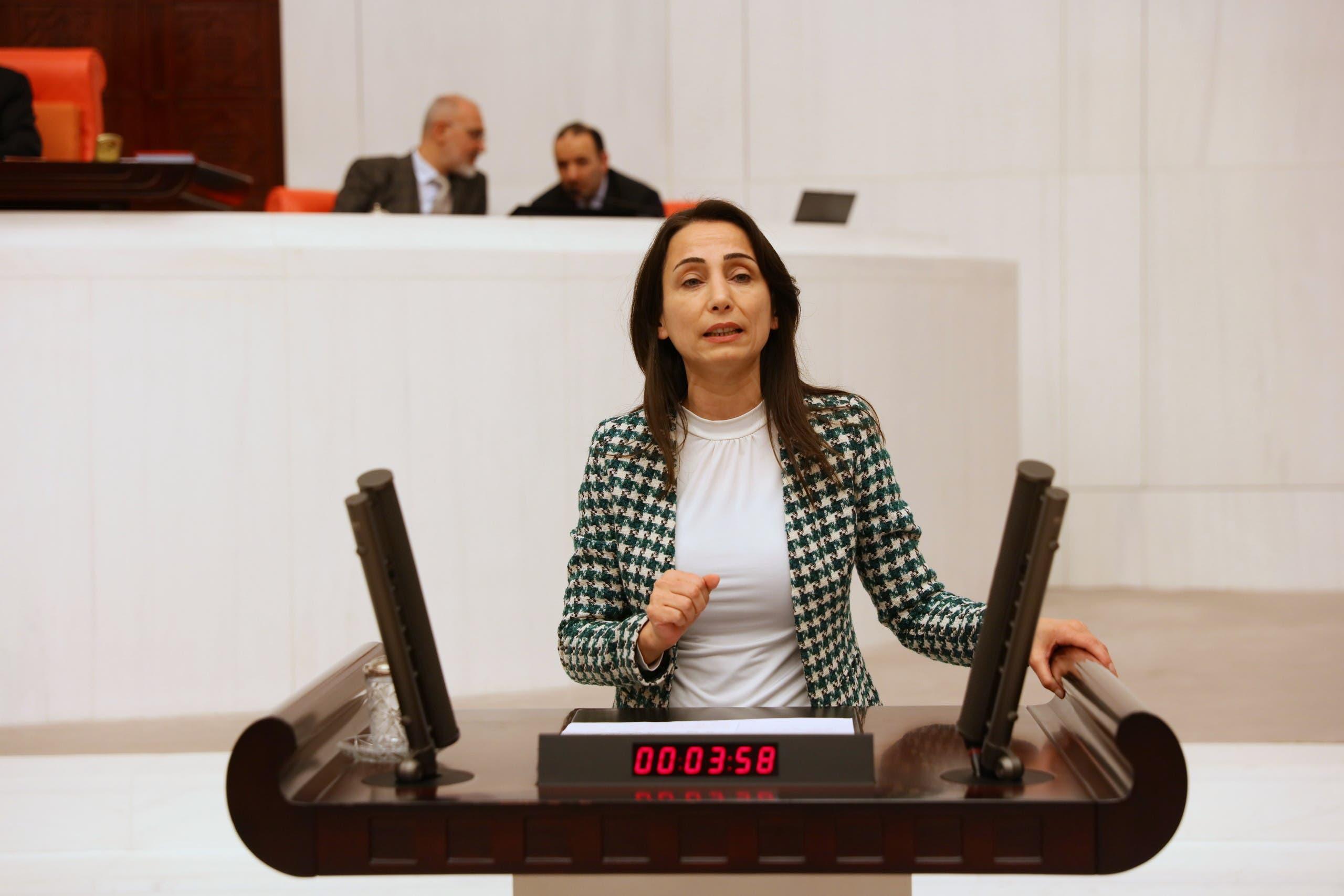 """تولاي حاتم أوغولاري نائبة عربية عن """"الشعوب الديمقراطي"""" في البرلمان التركي"""