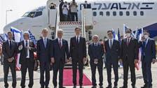 اسرائیل سے پہلی براہِ راست پرواز کی سعودی عرب کی فضاؤں میں سفر کے بعد یو اے ای آمد