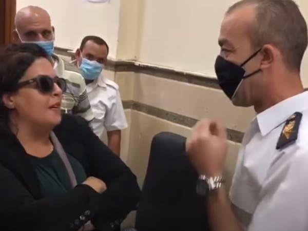 جديد سيدة المحكمة التي شغلت مصر.. اتهام ضابط بالتحرش