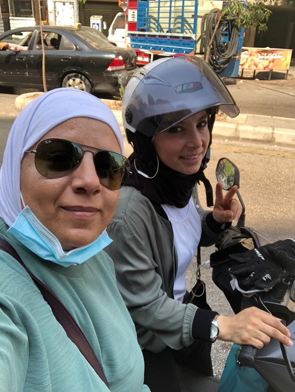 Rana and Carina Karazi. (Supplied)