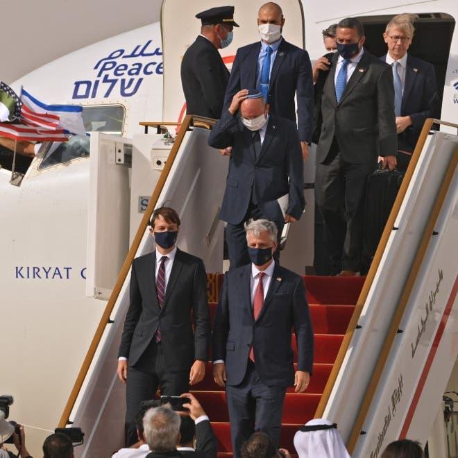 في أول رحلة تجارية.. طائرة إسرائيلية تهبط في أبوظبي