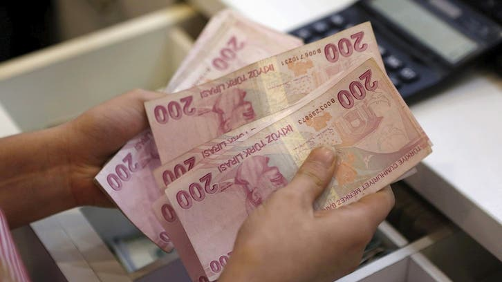 Turkish lira hits weakest level in three weeks