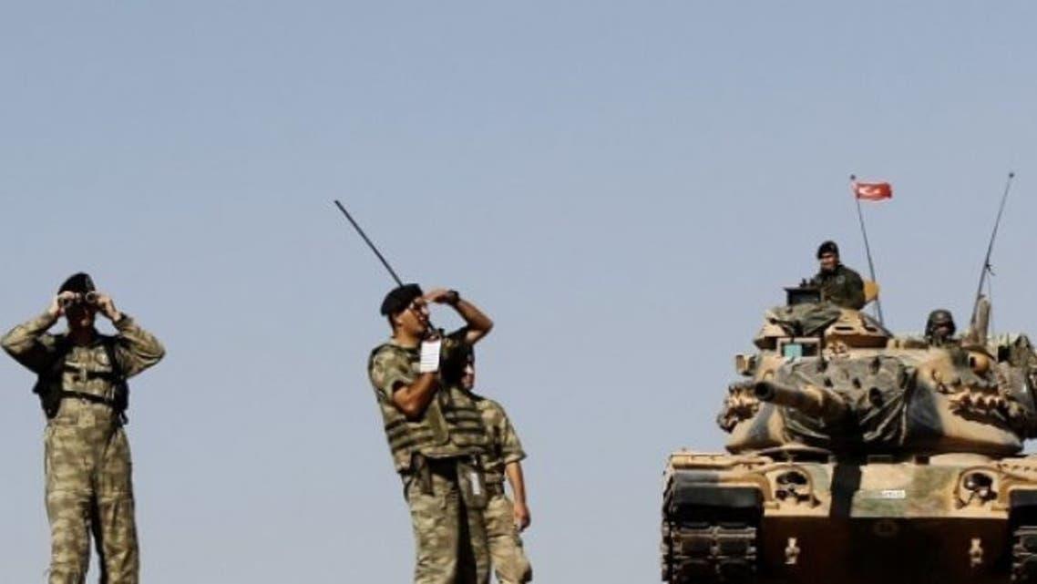 قوات تركية سوريا