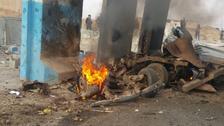 انفجار سيارة مفخخة بين تكريت وكركوك ومقتل سيدة