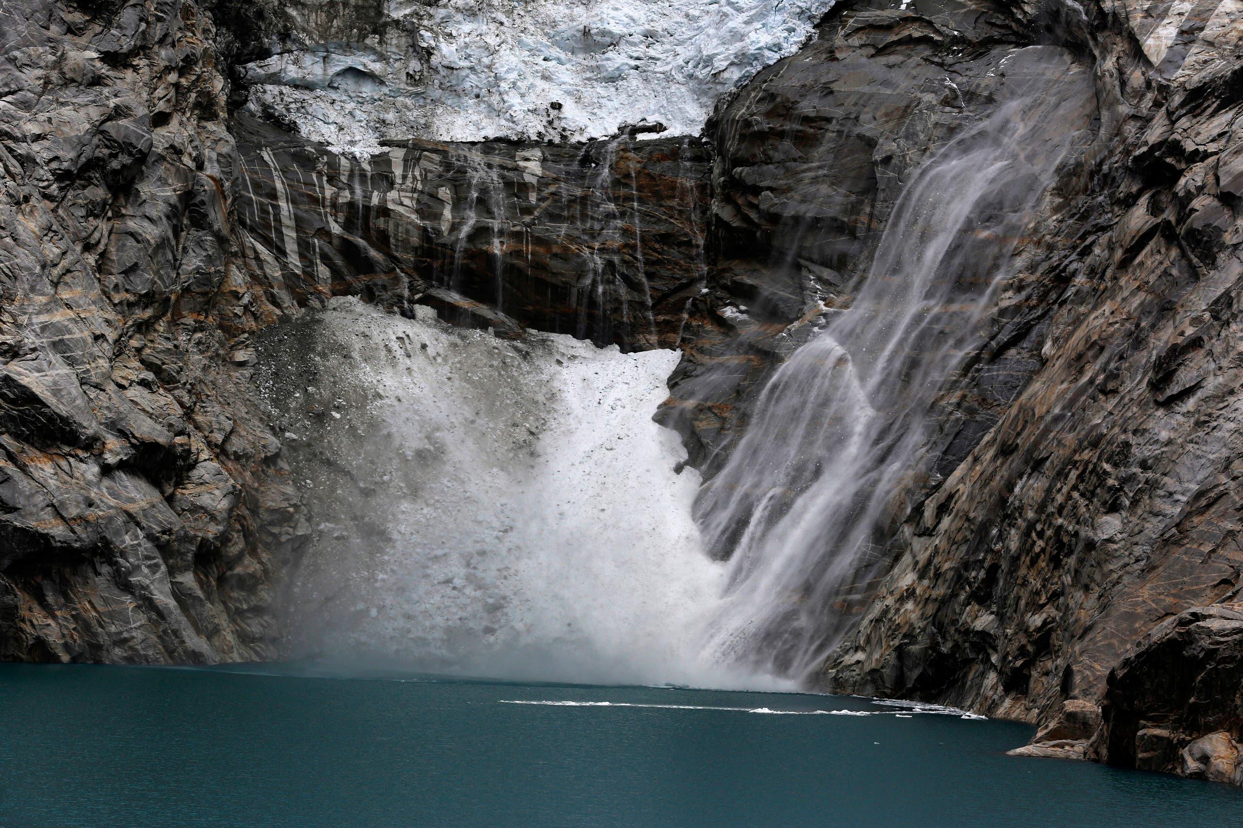نهر جليدي في البيرو (أرشيفية)