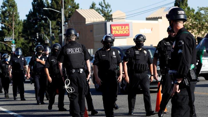 مقتل رجل أسود على يد الشرطة في لوس أنجلوس