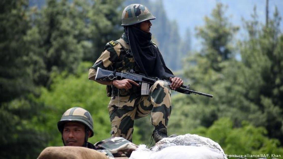 پس از مناقشه مرزی هند و چینسربازان هندی در چهار ارتفاع راهبردی مستقر شدند