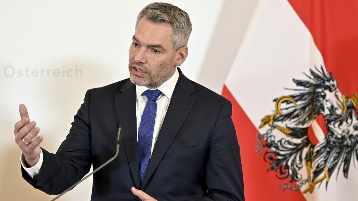 كارل نيهامر وزير الداخلية النمساوي