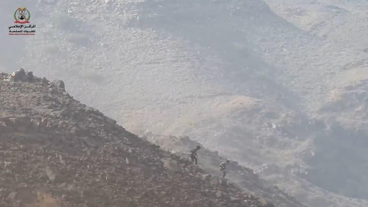 شاهد.. فرار جماعي لمقاتلي الحوثي في جبهة نهم