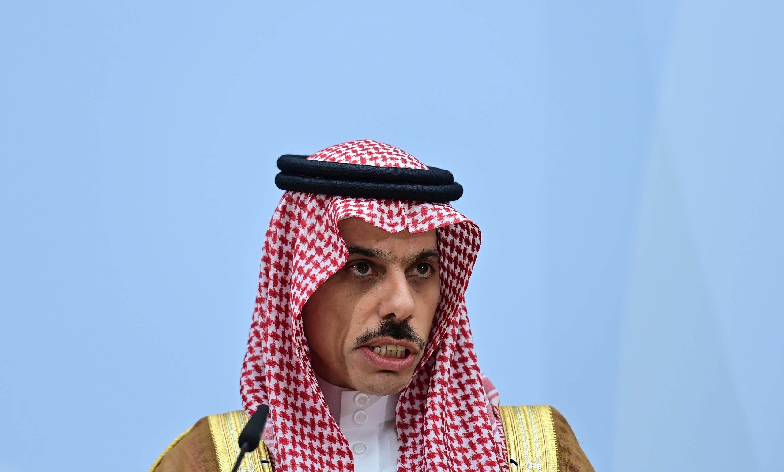فیصل بن فرحان وزیر خارجه سعودی