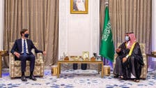 محمد بن سلمان يبحث مع كوشنر آفاق عملية السلام بالمنطقة