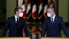 بغداد : عراقی وزیراعظم اور فرانسیسی صدر کا جوہری پاورپلانٹ کے منصوبے پر تبادلہ خیال