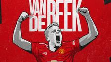 مانشستر يونايتد يتعاقد مع الموهوب الهولندي فان دي بيك