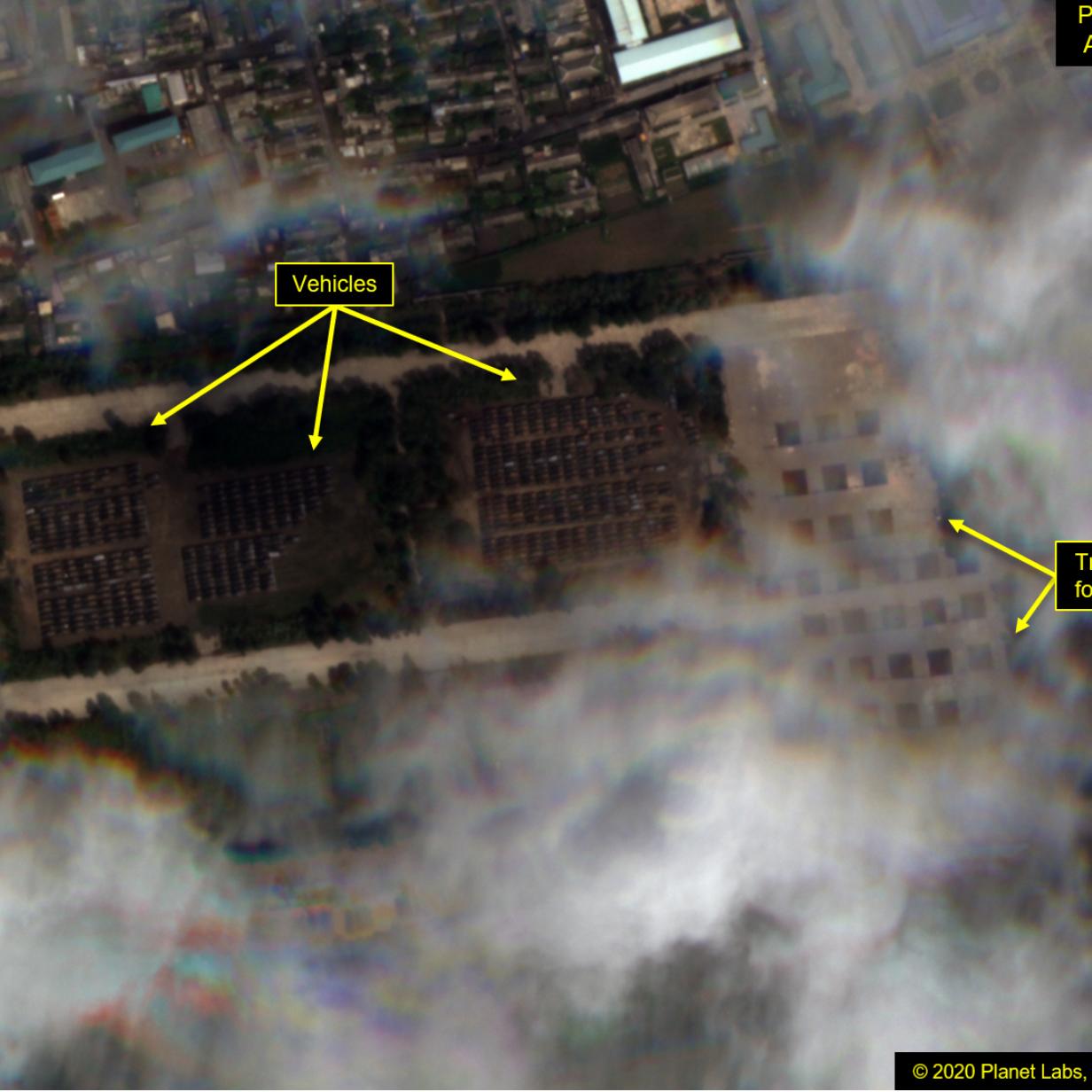 بيونغ يانغ تجهز لعرض عسكري ضخم.. وقلق أممي من نشاطها النووي
