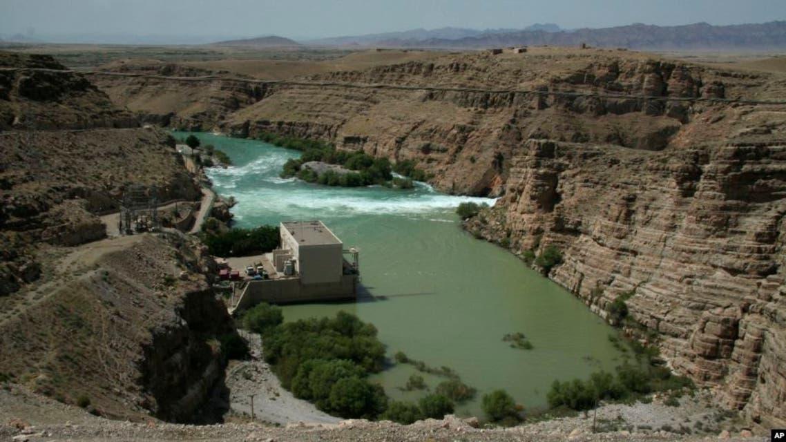 Kajakai dam in Helmand