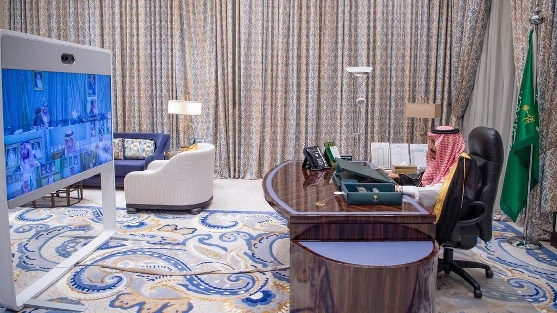 مجلس الوزراء السعودي برئاسة خادم الحرمين الشريفين الملك سلمان بن عبد العزيز
