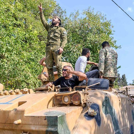 40 من مرتزقة تركيا يغادرون ليبيا.. بعد دفعهم رشاوى