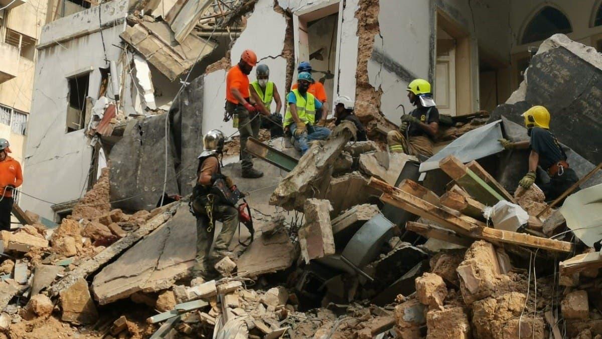 Beirut explosion rescue team detects possible survivor under rubble: Reports thumbnail