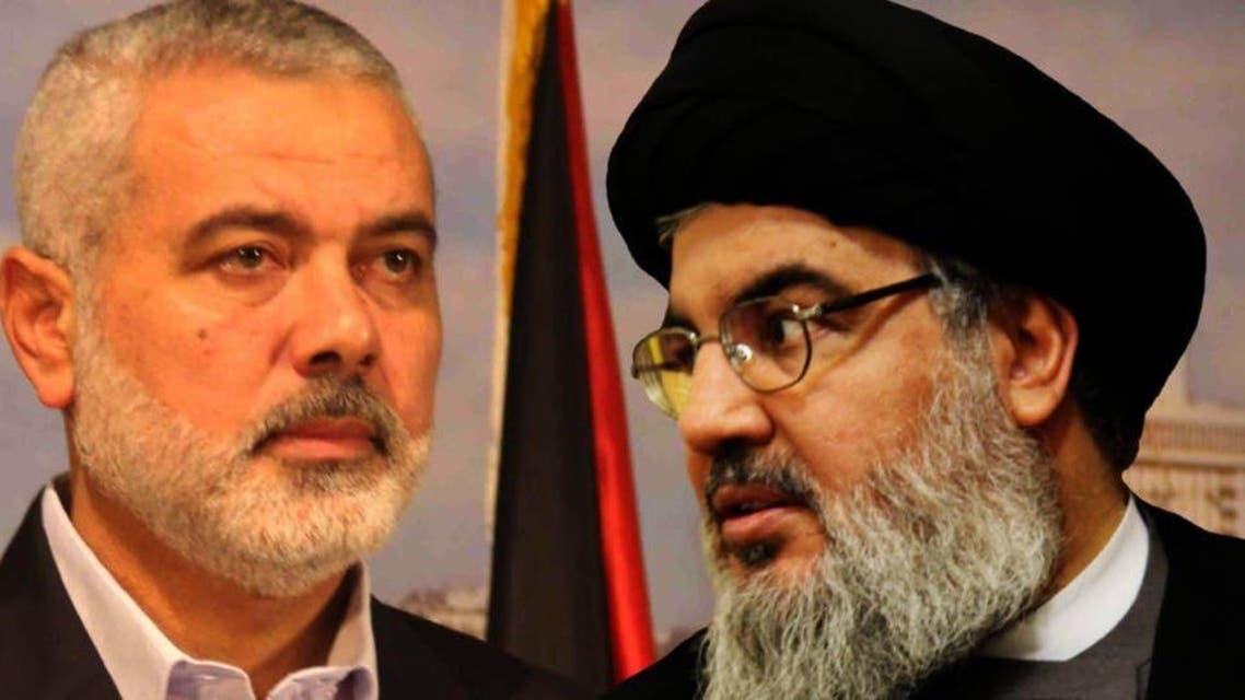 Hasan Nasrullah and Ismaeil Hanya