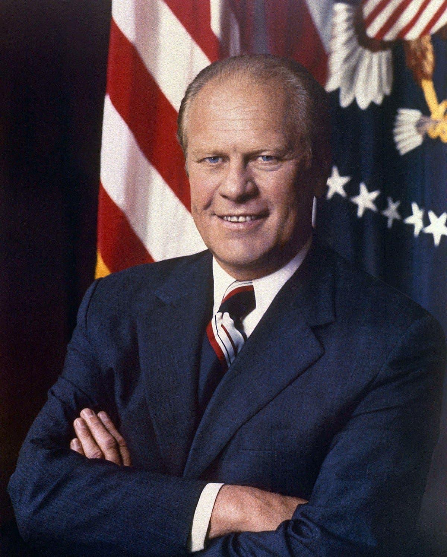 صورة للرئيس الأميركي جيرالد فورد