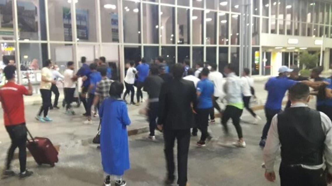 ایران؛ درگیری فیزیکی شدید میان بازیکنان استقلال با لیدرها در فرودگاه