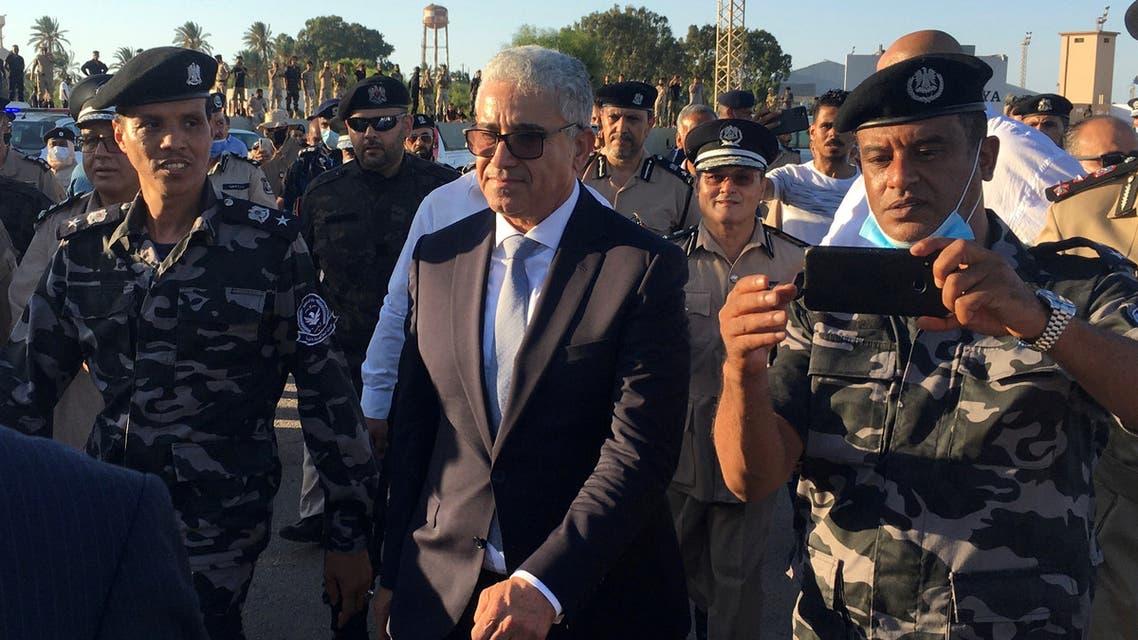 وزير الداخلية في حكومة الوفاق فتحي باشاغا (أرشيفية- رويترز)