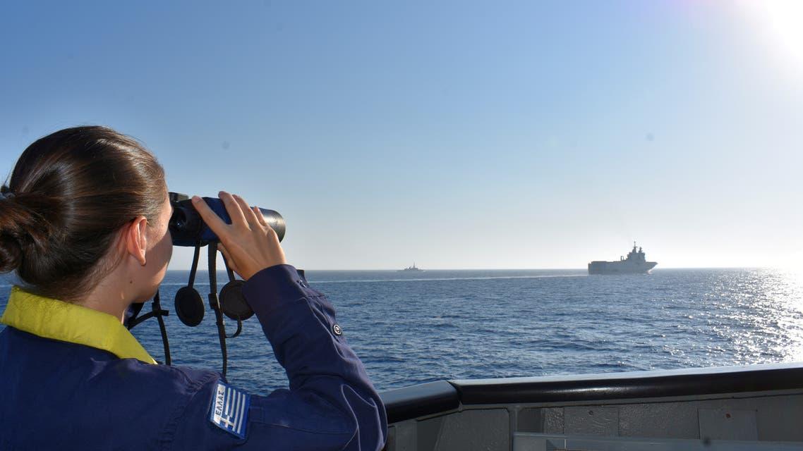 قبالة السواحل اليونانية (أرشيفية- رويترز)