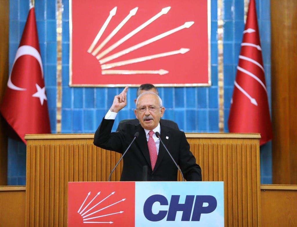 زعيم المعارضة التركية، كمال كليتشدار أوغلو