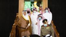 غسل کعبہ شریف کی ایمان افروز تقریب میں شہزادہ خالد الفیصل کی شرکت
