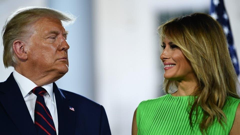 ترمب وزوجته يطلقان موقعا رسميا للرئيس الأميركي الـ45