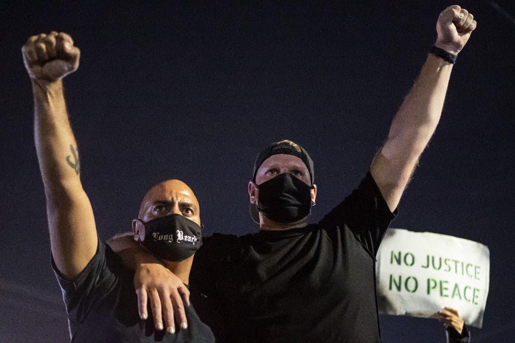من تظاهرات بورتلاند الأميركية - 4 سبتمبر 2020
